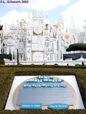 it's a small world Fantasyland Disneyland It's a Small World