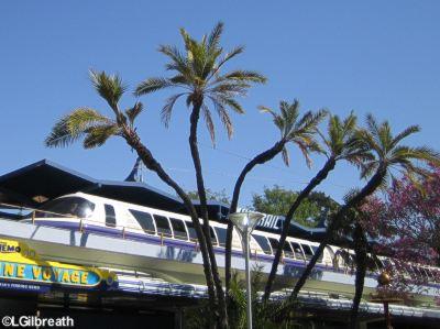 Disneyland Monorail   Tomorrowland Disneyland Disneyland Monorail