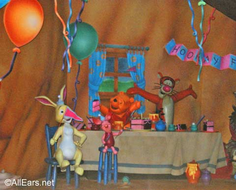 Pooh Birthday Party