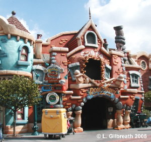 Roger Rabbit's Car Toon Spin  ToonTown Disneyland Roger Rabbit's Car Toon Spin