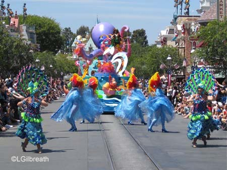 Soundsational Ariel dancers
