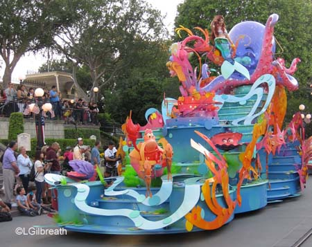 Soundsational Ariel float