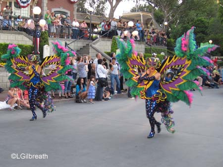 Soundsational Mardi Gras dancers