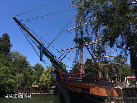 Sailing Ship Columbia  Frontierland  Disneyland Sailing Ship Columbia