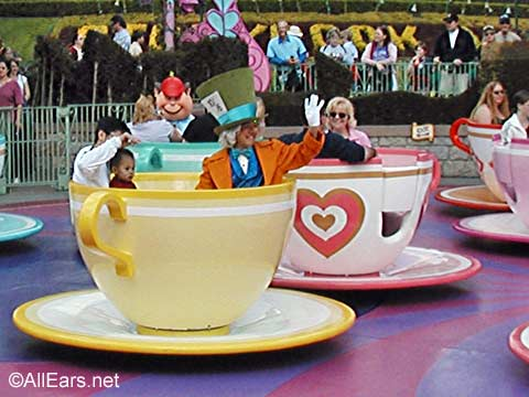 Mad Tea Party with Mad Hatter