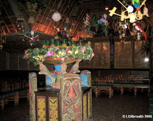 Tiki Room Interior