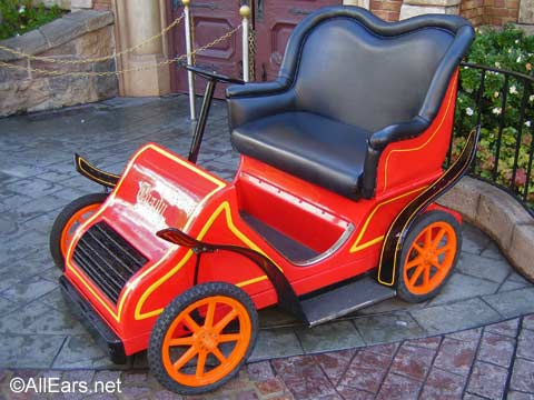 Mr. Toad's Wild Ride Car