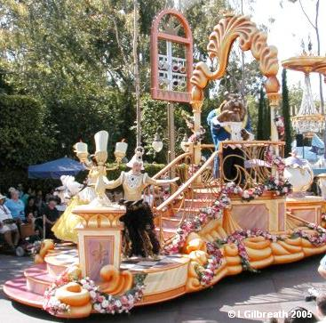 Beauty & the Beast Float
