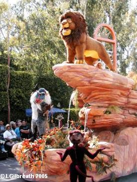 Lion King Float