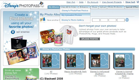 PhotoPass photo home
