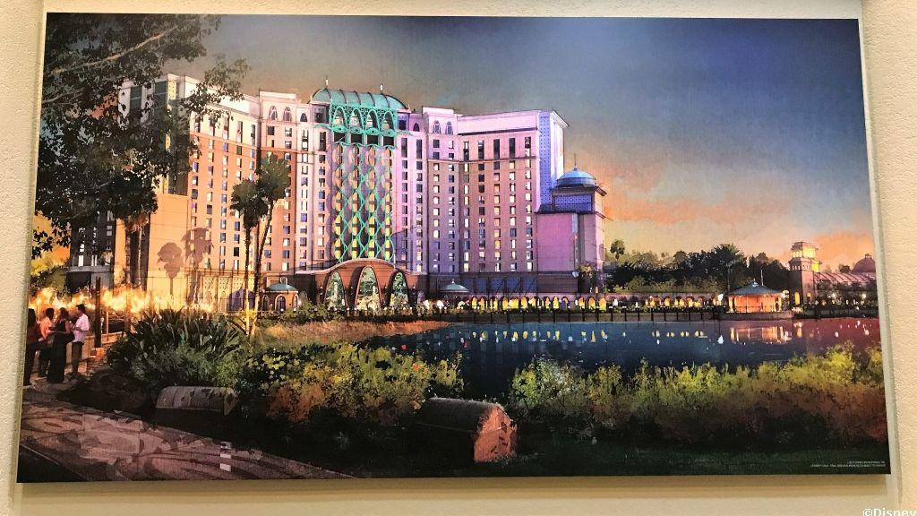 Artist Renderings, Model for Coronado Springs Tower