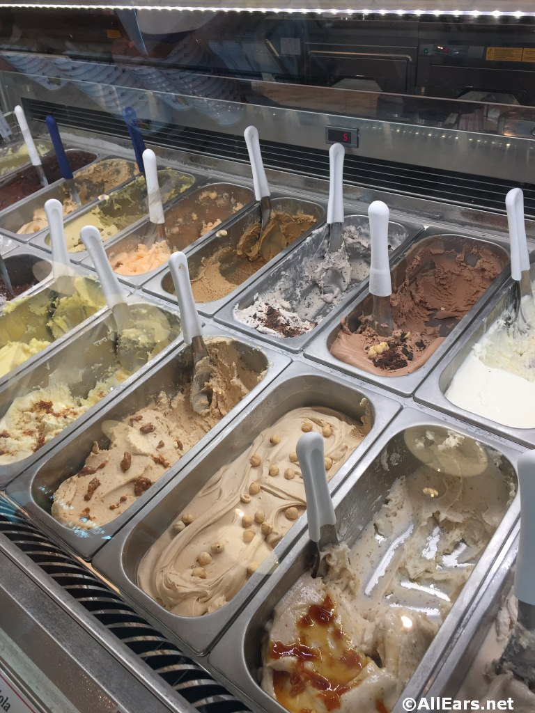 Vivoli Gelateria Opens in Downtown Disney