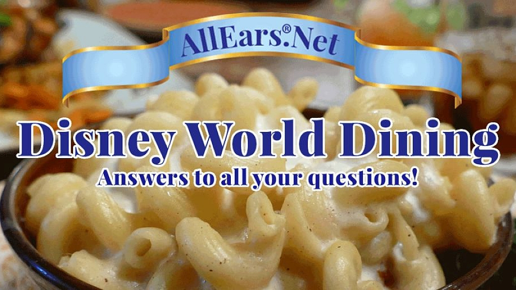 Rate and Review Your Dining Experiences at WDW