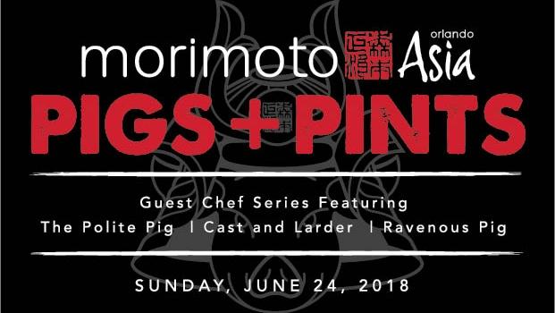 Morimoto Asia Hosting Guest Chef Event June 24