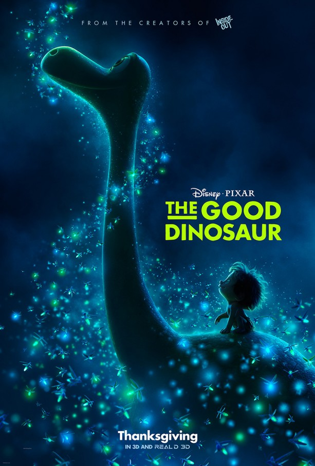 The Good Dinosaur Previews in Parks 10/16