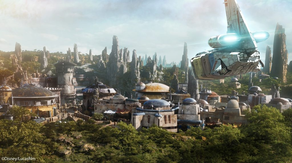 Star Tours Adds 'Last Jedi', Galaxy's Edge Scenes