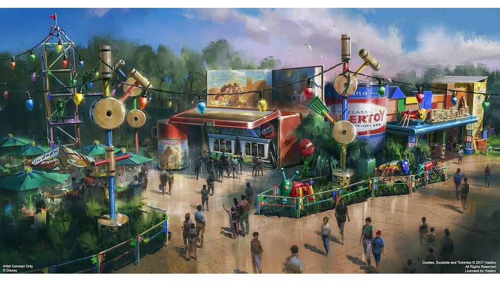 Woody's Lunch Box Coming to Toy Story Land