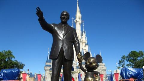 Disney Parks Now on Google Street View