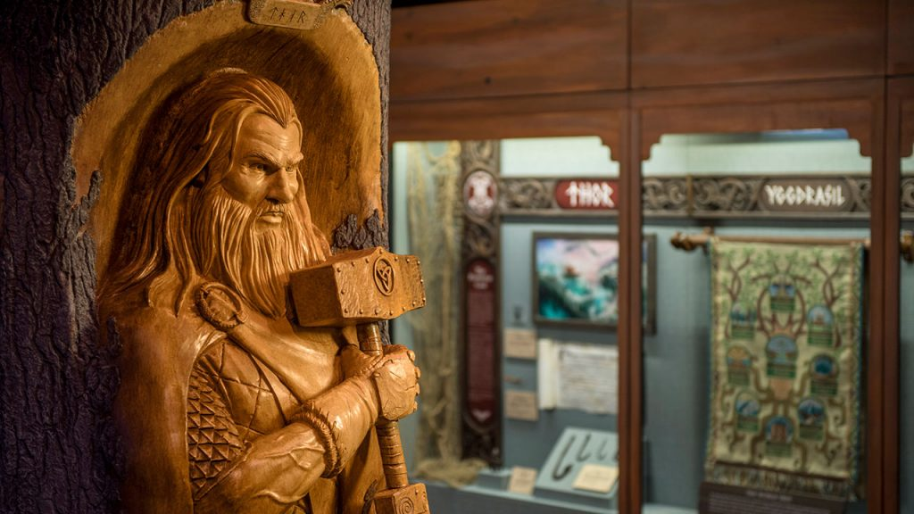 'Gods of the Vikings' Exhibt in Norway