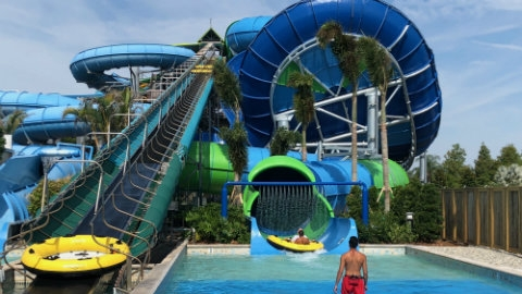 Aquatica Orlando Launches Ray Rush Raft Ride