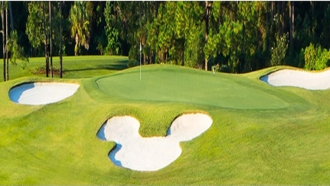 Disney Golf Courses Undergoing Refurbishment