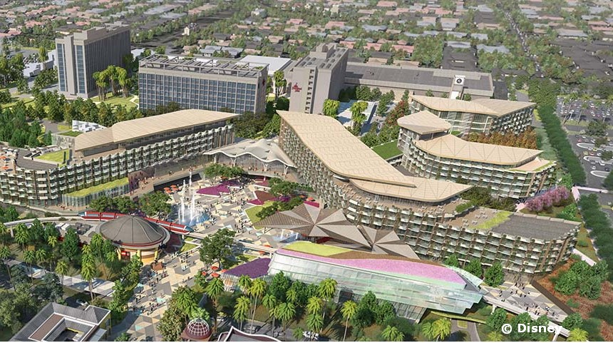 New Hotel Coming to Disneyland in 2021