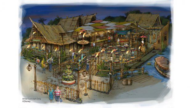 Tropical Hideaway Coming to Adventureland