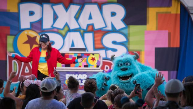 Pixar Pals Dance Party at Disneyland