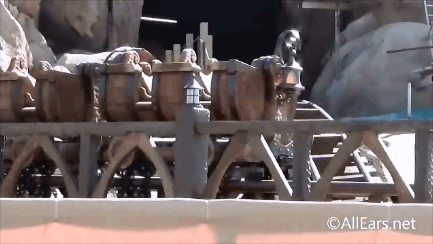 Seven Dwarfs Mine Train Testing Video - 3 Vantage Points
