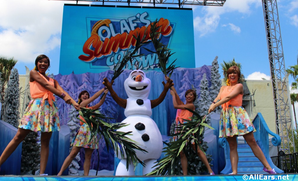 """Frozen Summer Fun"" NOW Through September 7"