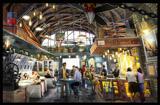 Jock Lindsey's Hangar Bar Now Open!