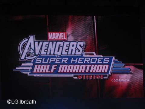 Countdown to Avenger Super Heroes Half Marathon