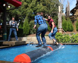Lumberjack Show Finishes Run