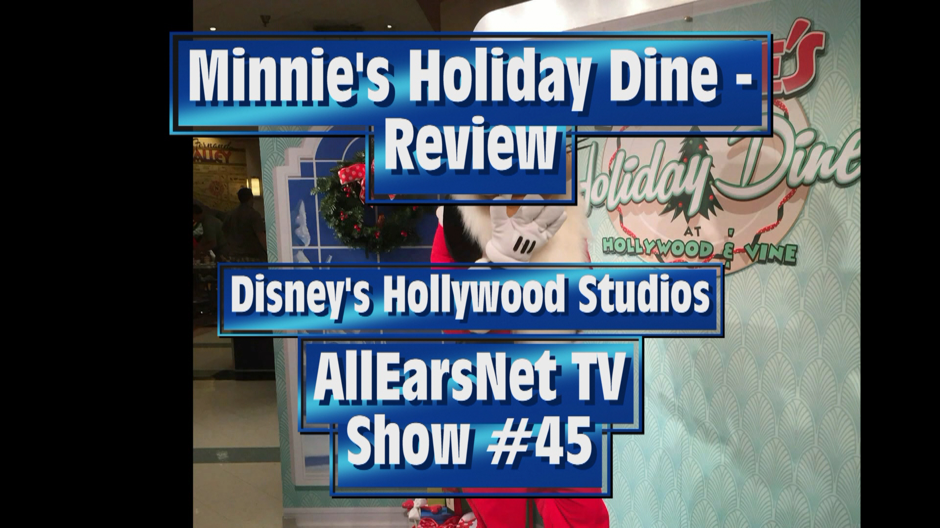 Minnie's Holiday Dine Video Review!