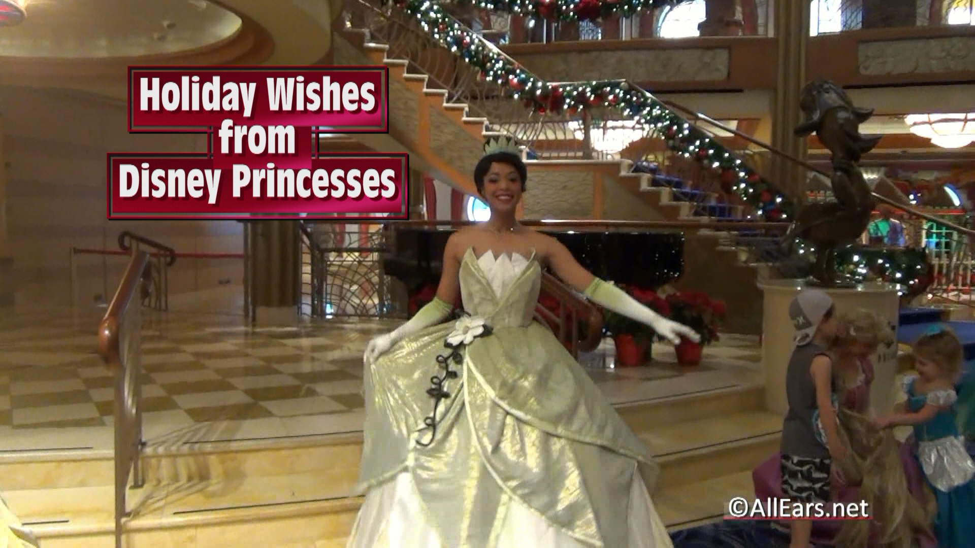 Disney Princesses Holiday Traditions and Wishes VIDEO