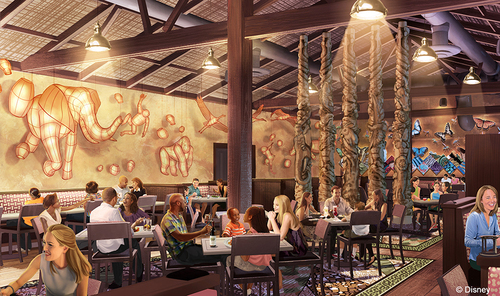 Nomad Lounge Coming to Animal Kingdom