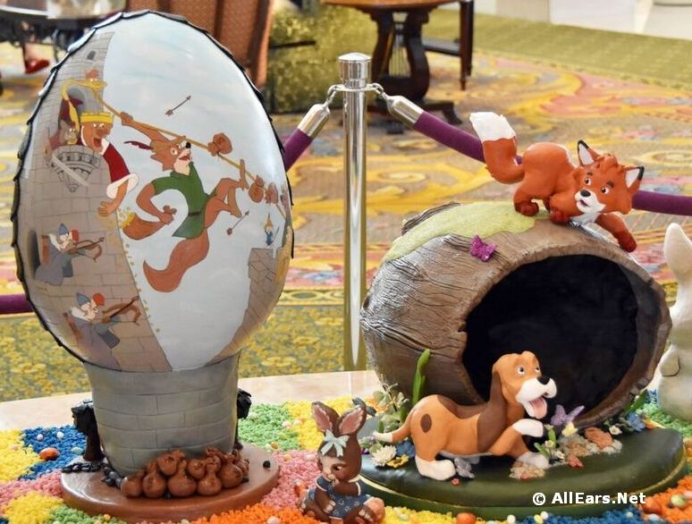 5th Annual Easter Egg Display at Grand Floridian Resort and Spa Through April 5