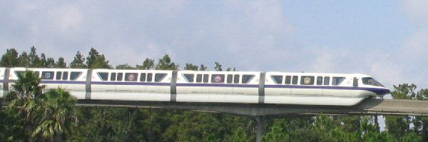 Monorail Work Continues Through June 2016