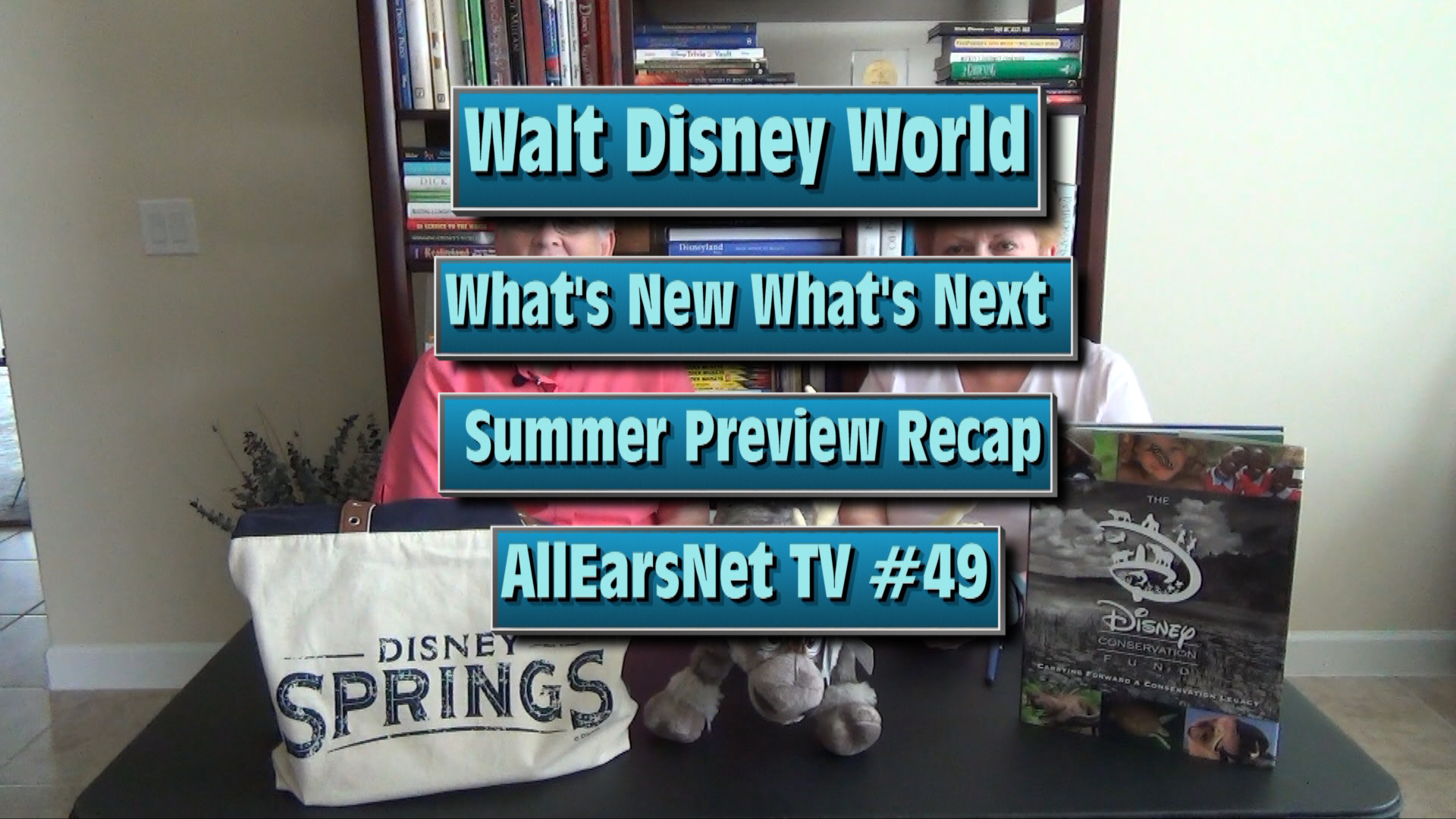 Walt Disney World Summer 2016 Preview: AllEarsNet TV #49