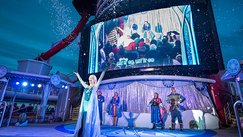 Frozen Fun Theme Returns to Cruises