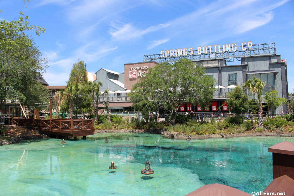 Town Center Phase I Opens at Disney Springs