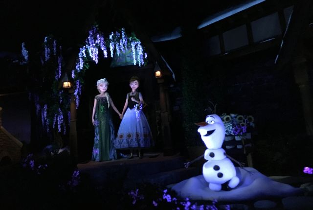 Frozen Ever After Opens to Record Crowds