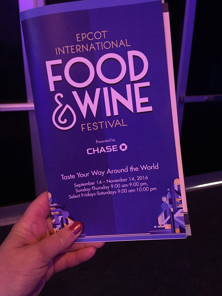 2016 Epcot International Food and Wine Festival Details Announced!