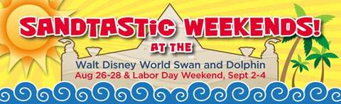 Swan and Dolphin to Host Sandtastic Weekends
