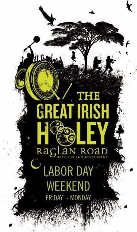 Raglan Road to Host 5th Annual Great Irish Hooley