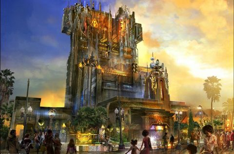 DCA Tower of Terror Changing to Guardians of the Galaxy Theme