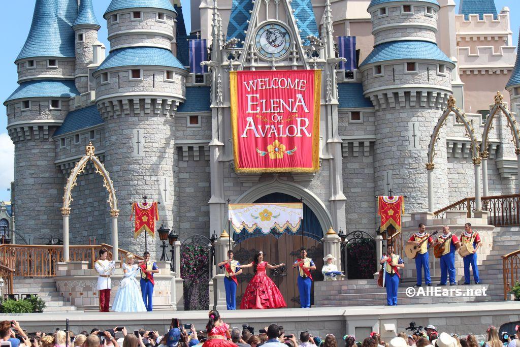 Princess Elena of Avalor Welcome at the Magic Kingdom