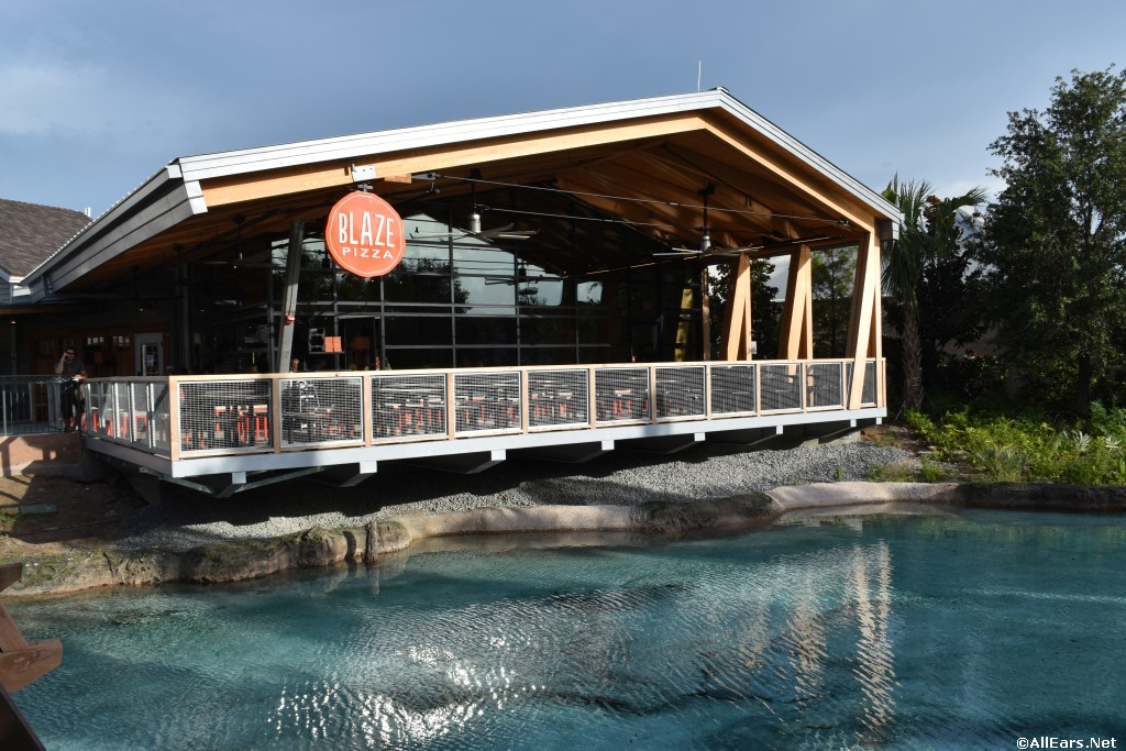 Blaze Fast-Fire'd Pizza Opens at Disney Springs