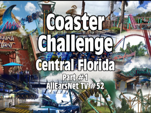 Central Florida Coaster Challenge Part #1