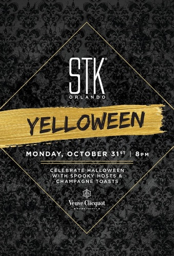"Celebrate ""Yelloween"" at STK Orlando"